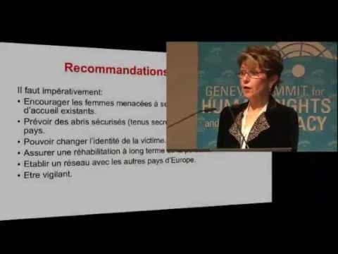 4th Geneva Summit: Jacqueline Thibault, Fondation Surgir