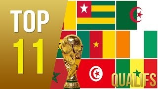 TOP 11 : Equipes Africaines Avec Le Plus De Qualifications En Coupe du Monde