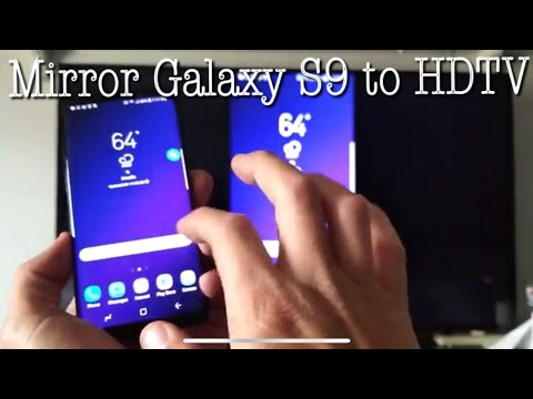 Galaxy S9 / S9+ : How To Screen Mirror To Samsung Smart TV (Photos, Videos, Games, Etc)