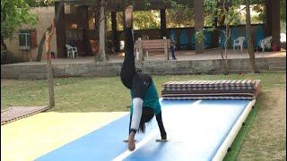 #gymnast girl power continue  bridge back over   #short