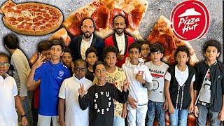 تحدي السعادة ... شكرا بيتزا هت جدة 🍕 Challenge of Happiness ... Thank You Pizza Hut Jeddah