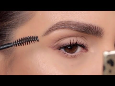 HOW TO MAKE YOUR EYEBROWS LOOK THICKER  TUTORIAL ALI ANDREEA