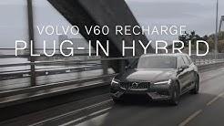 Der Volvo V60 Recharge Plug-in Hybrid – elektrisch und kraftvoll unterwegs in Norwegen