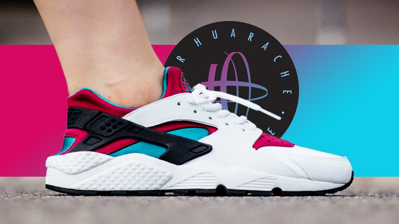 purchase cheap 84fa0 f068d Nike Air Huarache - Similar To The OG Colorway Jordan Wore In 90 s