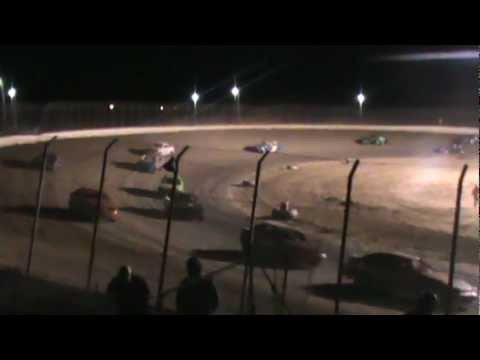 Clay County Speedway Hornet Feature (part 1) 04/06/2013