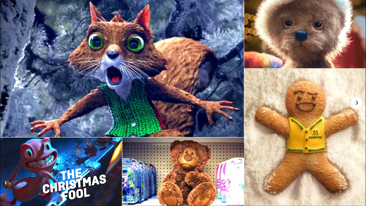 TOP 10 Funny Christmas Adverts From Walmart | Sky Movies | Khols | ClasOhlson | Morrison | Lidl