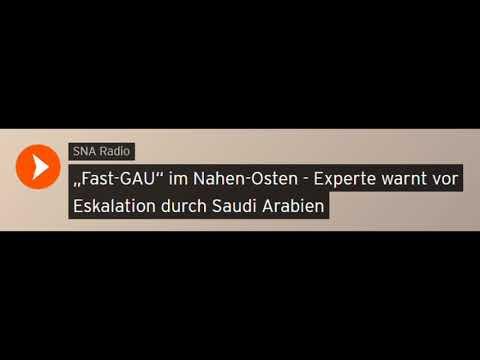 """""""Fast-GAU"""" im Nahen-Osten - Experte warnt vor Eskalation durch Saudi Arabien (Sputniknews)"""