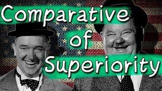 Comparative of Superiority - Comparativo de Superioridade - Aula Grátis de Inglês - Curso de Inglês