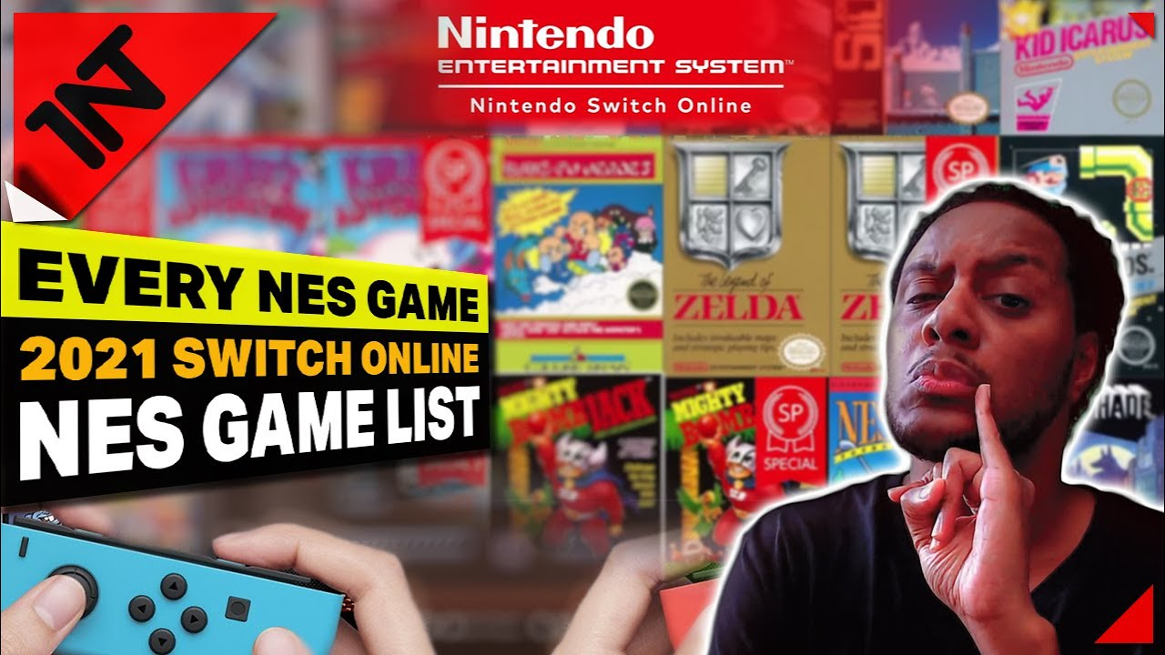 👾 All NES GAMES for NINTENDO SWITCH ONLINE 2021 Showcase! 🎮
