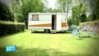La Sarthe au fil de l'eau : Camping L'Oeil dans le Rétro (Avoise)