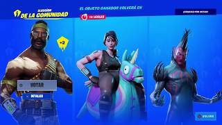 FORTNITE PARTY SPOKEN 🔊🔊 SKINS VOTATION SYSTEM