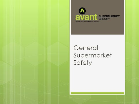 General Supermarket Safety Video