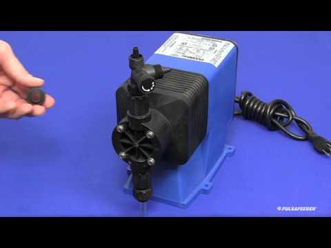 Pulsafeeder PULSAtron Series Metering Pumps Installation