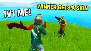 Gifting a 6 Year Old Default his 1ST SKIN On Fortnite (EMOTIONAL)