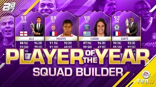 player of the year squad builder   fifa 17 ultimate team