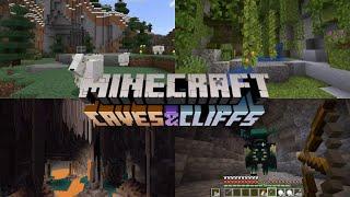 Minecraft: Caves & Cliffs 1.17 - Update Reveal Minecon (2020)