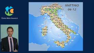 Previsioni meteo Italia 3 Febbraio 2017
