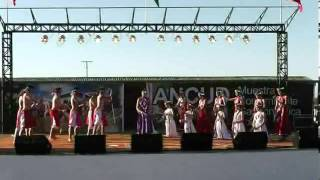 Escuela de danzas isla grande de chiloé-Arauco indómito