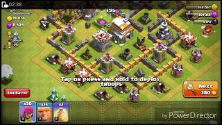 How to attack in home village of clash of clans