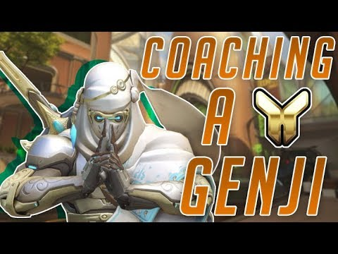 Coach Jonal #1 | Gold Genji Numbani Attack