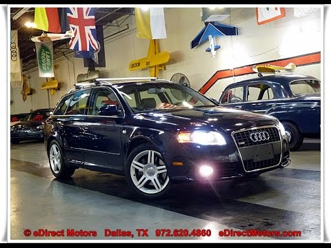 2008 audi a4 avant 2 0t quattro edirect motors youtube. Black Bedroom Furniture Sets. Home Design Ideas