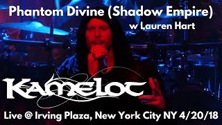 Kamelot - Phantom Divine (Shadow Empire) w Lauren Hart LIVE @ Sold Out Irving Plaza NYC 4/20/18