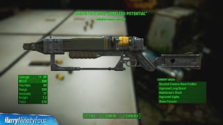 Fallout 4 - How to Find Prototype UP77 Unique Weapon, Infinite Ammo Clip
