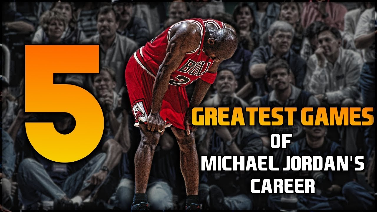 Michael Jordan's 5 greatest games of his career, ranked