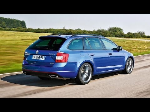 test drive skoda octavia combi rs with sub option auto youtube. Black Bedroom Furniture Sets. Home Design Ideas