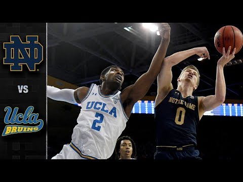 Notre Dame vs. UCLA Basketball Highlights (2018-19)