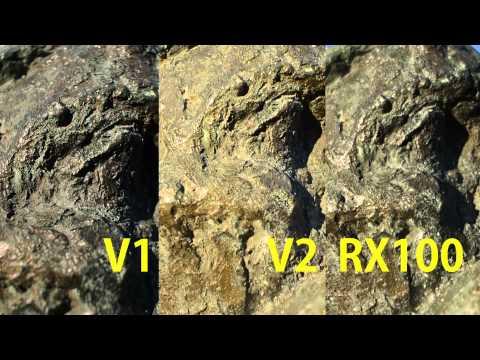 Nikon 1 V2 TEST   vs V1 vs RX100