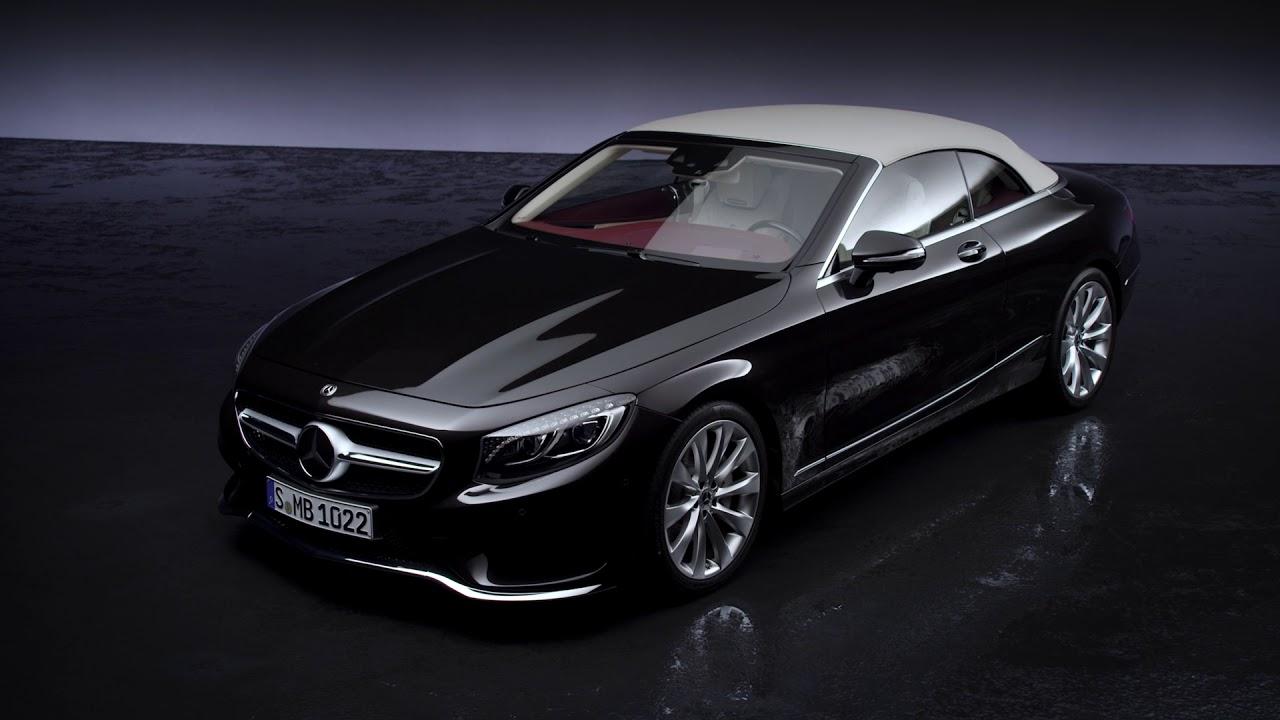 2018 Mercedes S-Class Cabriolet - design studio - YouTube