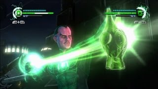Green Lantern: Rise of the Manhunters - Multiplayer local