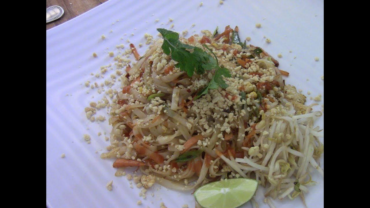 Homemade chicken pad thaisimple and easy youtube youtube premium forumfinder Gallery