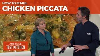 How to Make Lemony Chicken Piccata