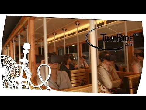 Time Ride VR Cöln - Kölner Stadt Geschichte in Virtual Reality - Ride Review Reportage