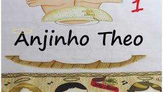 Pintando um Anjinho! projeto novo – ANJINHO THEO – parte 1 – Mariana Santos