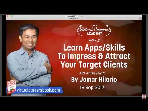 Learn Apps/Skills To Impress & Attract Your Target Clients Part 3