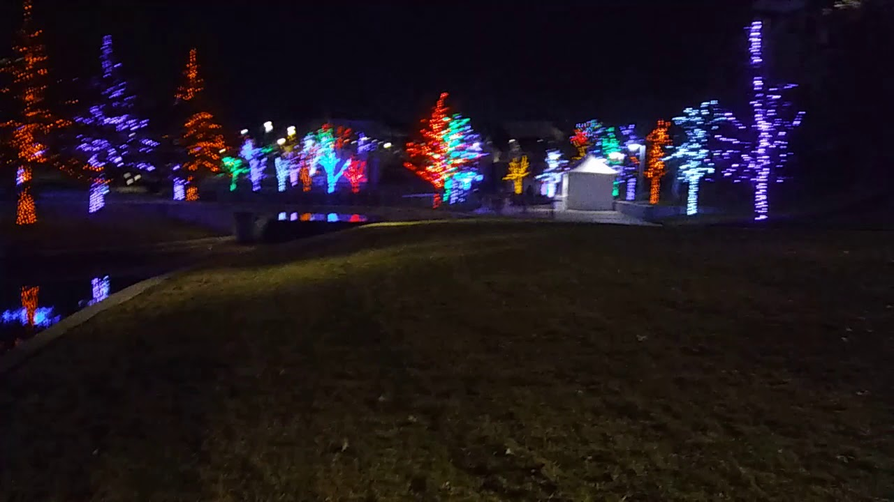 Vitruvian Lights Addison Tx Youtube Christmas