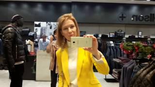 Обучение стилистов. Репетиция шопинга в торговом центре.
