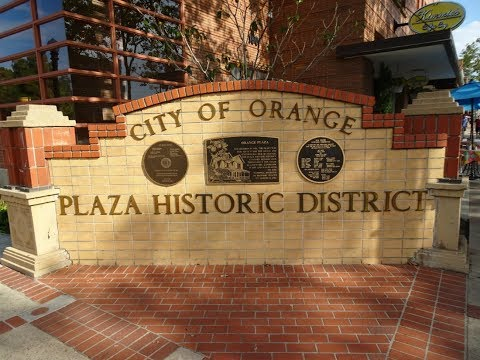 Old Town Orange, California