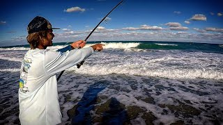 You Won't Believe How Many Huge Fish We Caught - surf fishing