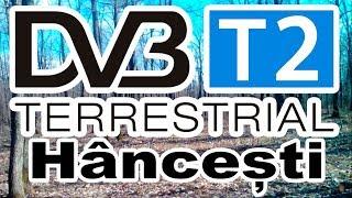 Recepție televiziune digitală DVB-T2 la Hâncești - 01.04.2018