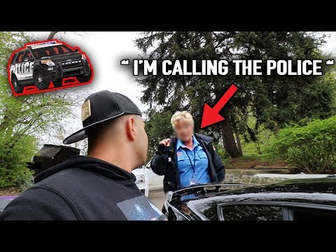 OLD LADY CALLED COPS ON OUR LOUD MUSTANGS!