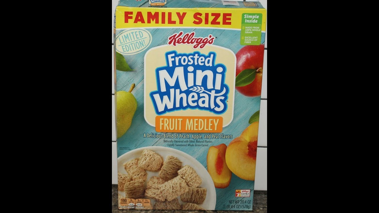 Frosted Mini Wheats Fruit Medley