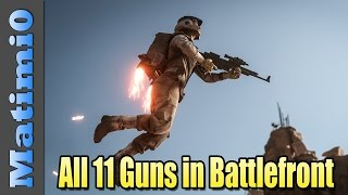 All 11 Guns in Star Wars Battlefront - Weapon Guide