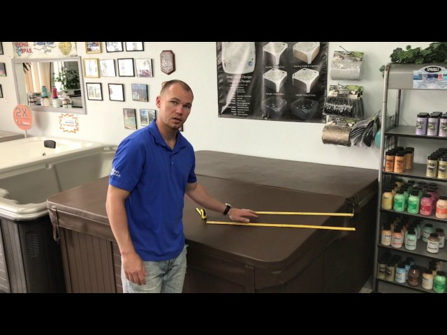 How to measure a hot tub Cover