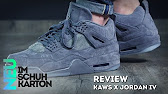 a6821affc994 Kaws x Air Jordan 4 Cool Grey Final Version HD - YouTube