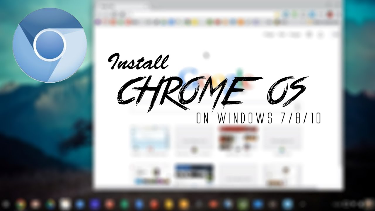 install chrome os on pc how to youtube. Black Bedroom Furniture Sets. Home Design Ideas