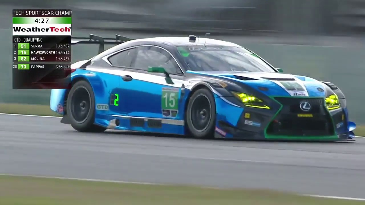 2018 Rolex 24 At Daytona Qualifying